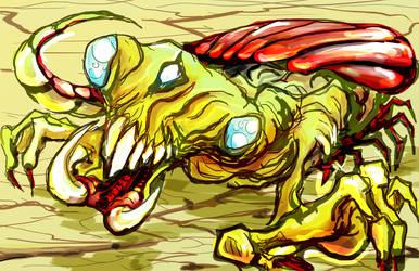 Weird Dragon : Scorpioon-dragoon by mugshotpro