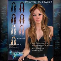 Instant Hair PSD Stock - Keira| 2000px 300dpi by MakeMeMagical