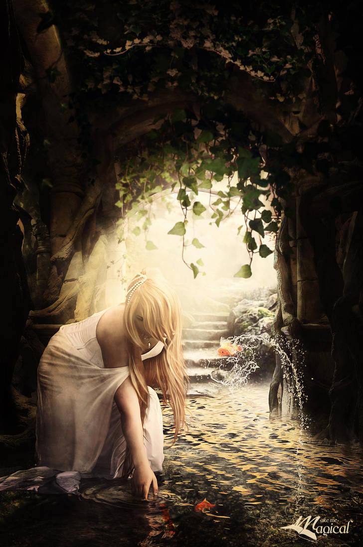 Secret Cave by MakeMeMagical