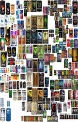 energy drink collection by limpbizkit9001