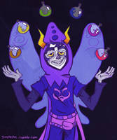 Gamzee God Tier by glooptastic