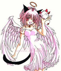 Ichigo Angel by mreviver