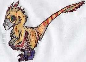 Kora Deinonychus by ToxicKittyCat