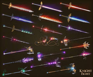Knightfight weapons 2 by sash4all