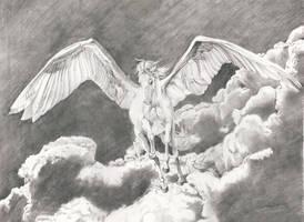 Where Winged Horses Fly by 7kadja7