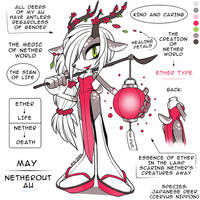 May the Japanese Deer [NETHEROUT AU] |Ether Type| by Ami-Dark