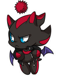 NETHEROUT Shadow's Dark Chao by Ami-Dark