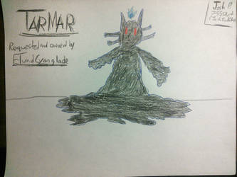 TARMAR THE DEMON (Requested by ElundCyanglade) by J-555ART