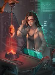 Scientist Girl by mashi2311