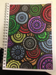 Colourful geometric patterns by Ceruleansketchcat