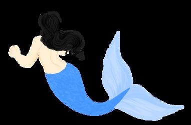 Mermaid by Ceruleansketchcat
