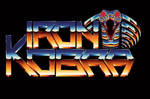 Iron Kobra 80s chrome logo by Bulletrider80s
