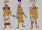 Mekhanite concept sketches by BrenZan