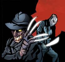 Freddy and Jason by TaniaDck1987