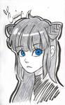 Blue eyes by KarolynDread115