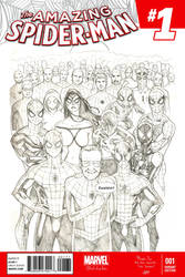 We are all Peter Parker - Stan Lee Tribute by LulisLuc