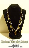 Archangel Uriel Key Necklace by Angelic-Artisan