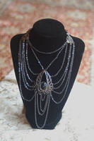 Dark Angel Winged Necklace by Angelic-Artisan