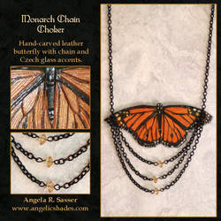 Monarch Chain Choker by Angelic-Artisan