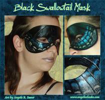 Black Swallowtail Mask by Angelic-Artisan