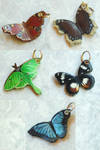 Butterfly Keychains 10-3-2010 by Angelic-Artisan
