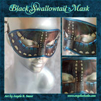 Black Swallowtail Mask v2 by Angelic-Artisan