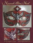 Naamah's Dove Mask by Angelic-Artisan