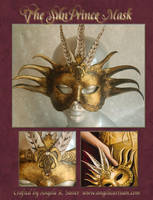 The Sun Prince Mask by Angelic-Artisan