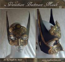 Venetian Batman Mask by Angelic-Artisan