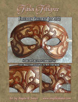 Facebook Mask Giveaway - Jan 2014 by Angelic-Artisan