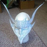 Dragon Mask Paper Prototype by Angelic-Artisan