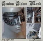 Allen's Crown Clown Mask by Angelic-Artisan