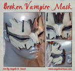 Larva's Broken Mask by Angelic-Artisan