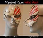 Phantom Style Hollow Mask by Angelic-Artisan