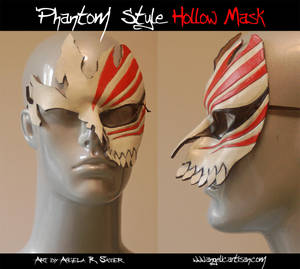 Phantom Style Hollow Mask by Angelic-Artisan
