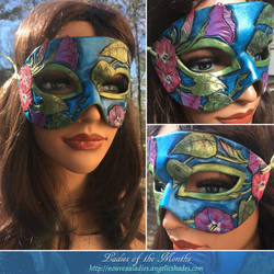 Detail Montage - September's Mask by Angelic-Artisan