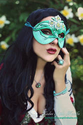 Mask of December I by Angelic-Artisan