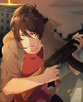 Gun and Run by DoritoMeatbag