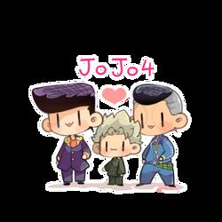 JJBA 4 by DoritoMeatbag