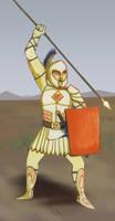 Warrior by sengarden