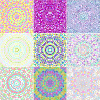 Kaleidoscope Calendar by Kaleiope-Studio