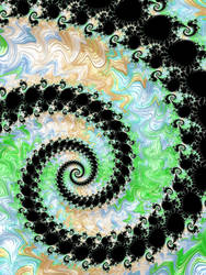Spiral Fractal by Kaleiope-Studio