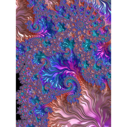 Colorful Fractal by Kaleiope-Studio