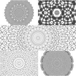Mandala Coloring Pages 2 5 for $1 by Kaleiope-Studio