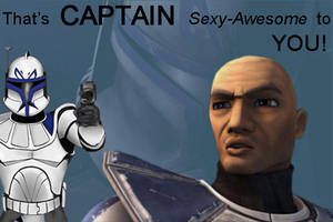 That's CAPTAIN sexy to you by MasterVash101
