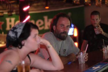 Stranger in a Bar by PixiePoisen