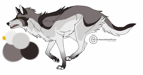 Wolf Design 1 by FableofSpades