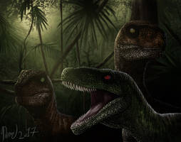 A Pack of Raptors by drmambo199