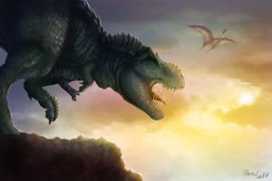 Hyper Rex isn't Happy by drmambo199