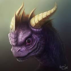 Spyro The Dragon by drmambo199